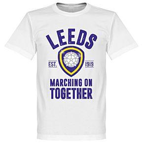 Leeds Established Tee - White