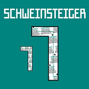 Schweinsteiger 7 (Danke Bastian Gallery Printing)