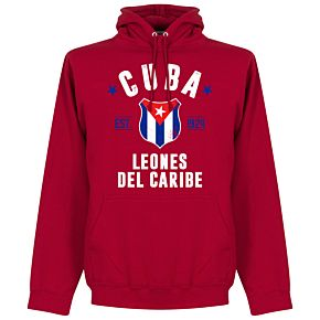 Cuba Established Hoodie - Red