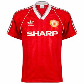 adidas Manchester United 1988-1990 Home Shirt - USED Condition (Great) - Size S *READY TO PUBLISH*