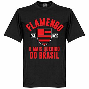 Flamengo Established Tee - Black