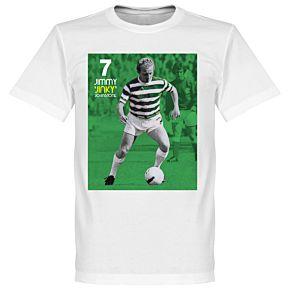 Johnstone Celtic Legend Tee - White