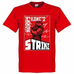 Harry Kane's Strike Tee - Red