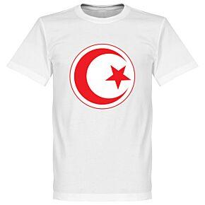 Tunisia Crest Tee - White