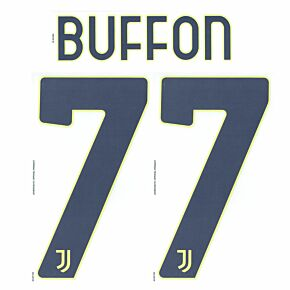 Buffon 77 (Official Printing) - 20-21 Juventus Home GK