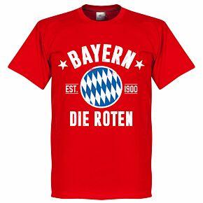 Bayern Established Tee - Red