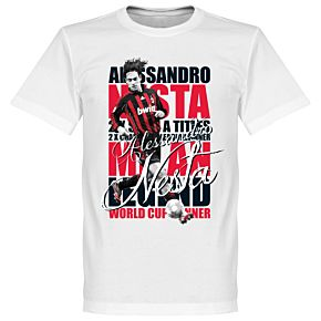 Alessandro Nesta Legend Tee - White