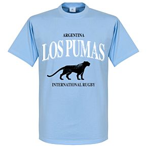 Argentina Rugby Tee - Sky