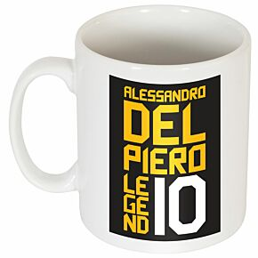 Del Piero Legend #10 Graphic Mug