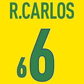 R. Carlos 6 (Fan Style) 20-21 Brazil Home