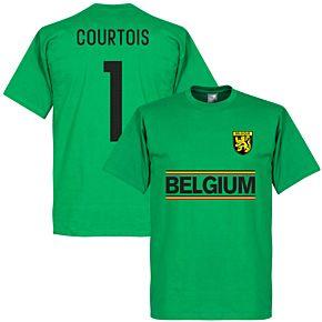 Belgium Courtois Team Tee - Green