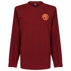 41-42 AS Roma L/S Retro Shirt
