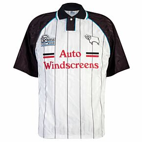 Rams Pro Wear Derby County 1993-1995 Home Shirt - USED Condition (Great) - Size M *READY TO PUBLISH*