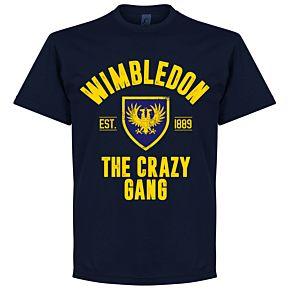Wimbledon Established Tee - Navy