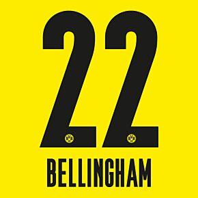 Bellingham 22 - 20-21 Borussia Dortmund Home (Official Printing)