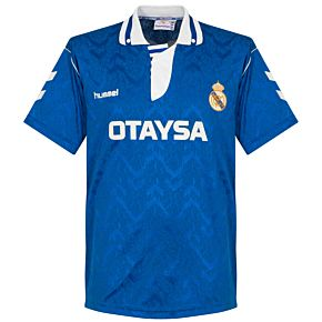 Hummel Real Madrid 1992-1993 Away Shirt - USED Condition (Great) - Size XL