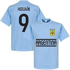 Argentina Higuain Team Tee - Sky
