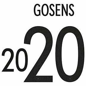 Gosens 20 (Official Printing) - 20-21 Germany Home