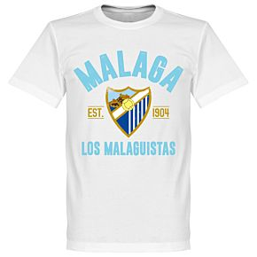 Malaga Established T-Shirt - White