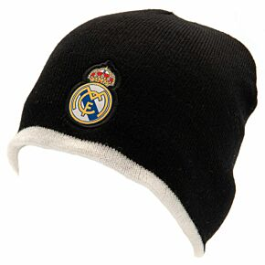 Real Madrid Reversible Beanie Hat