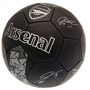 Arsenal Signature Ball - Black/Silver
