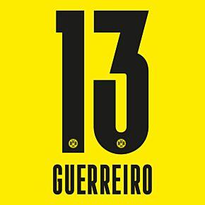 Guerreiro 13  - 20-21 Borussia Dortmund Home (Official Printing)