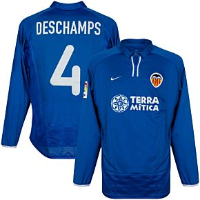Nike Valencia 2000-2001 3rd Shirt - NEW Player Issue Deschamps 4 - Size M