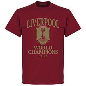 Liverpool World Club Champions 2019 T-shirt - Chilli Red