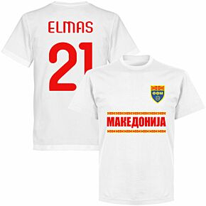 Macedonia Elmas 21 Team T-shirt - White