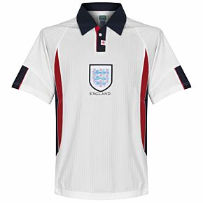 1998 England World Cup Finals Home Retro Shirt