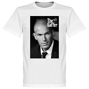Zidane The Geffer Tee - White