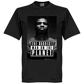 Mike Tyson Baddest Man Tee - Black