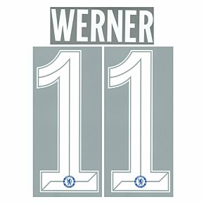 Werner 11 (Official Cup Printing) - 21-22 Chelsea Home