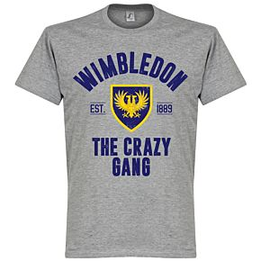 Wimbledon Established Tee - Grey