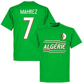 Algeria Mahrez 7 Team T-Shirt - Green