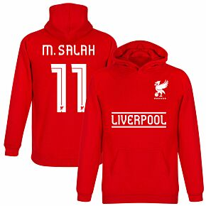 Liverpool M. Salah 11 Team Hoodie - Red