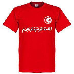 Tunisia Script Tee - Red