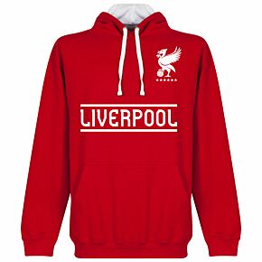 Liverpool Team Hoodie - Red/White