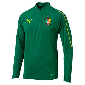 Cameroon 1/4 Zip Top 2018 / 2019 - Green