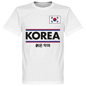 Korea Team Tee - White
