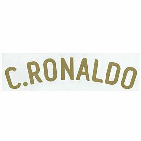 C. Ronaldo (Name Only) - 07-09 Portugal Home Official Name Transfer