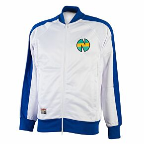 Nankatsu Track Jacket 1 - White/Blue