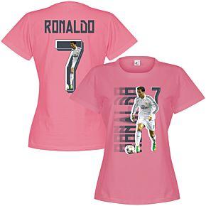 Ronaldo Gallery Womens Tee - Pink
