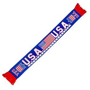 USA Jacquard Scarf
