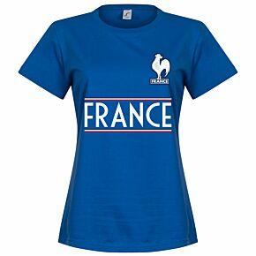 France Team Womens Tee - Royal