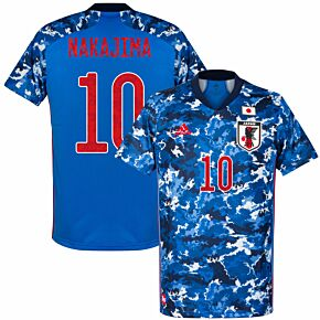 20-21 Japan Home Shirt + Nakajima 10