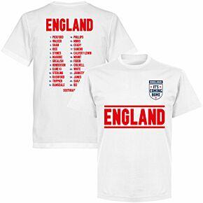 England Squad KIDS T-shirt - White