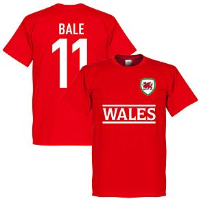 Wales Bale 11 Team Tee - Red