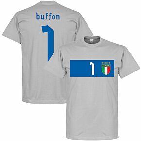 Italy Buffon Banner Tee - Grey