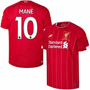 19-20 Liverpool Home P/L Champions Home Shirt + Mane 10